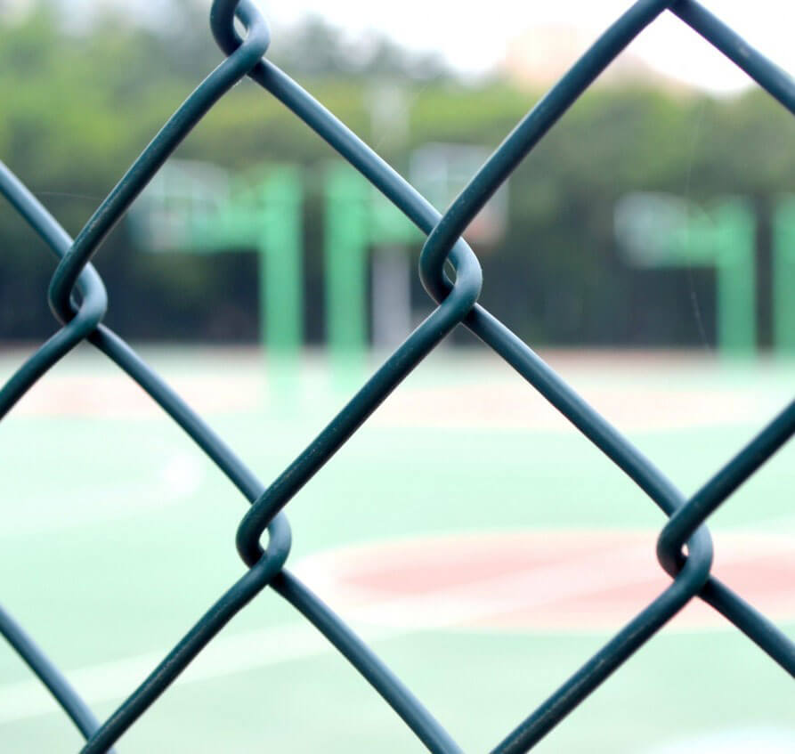 PVC Chain Link Fence Suppliers & Manufacturers in UAE | YKM